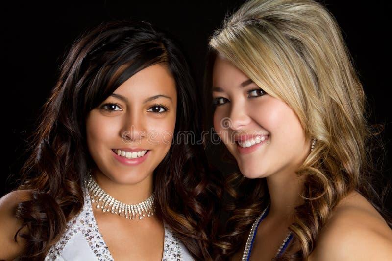 Amis de sourire photo libre de droits
