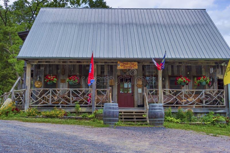 Amis młynu knajpa w Rogersville, Tennessee zdjęcie royalty free