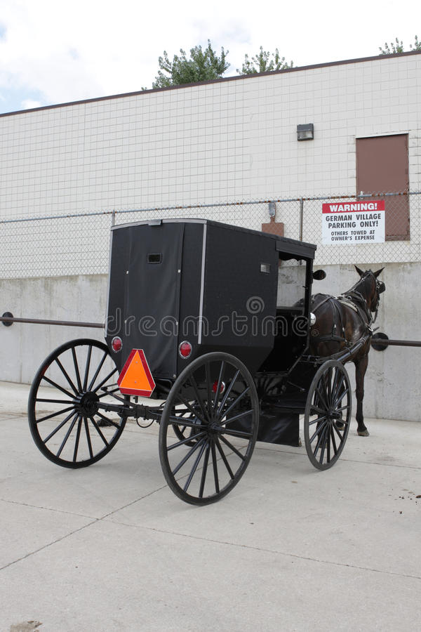 Download Amish stock afbeelding. Afbeelding bestaande uit kerk - 10777917