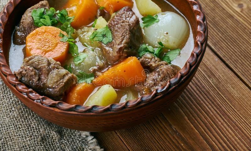 Amish Beef Stew royalty free stock photography