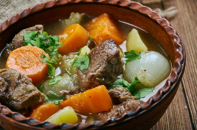 Amish Beef Stew stock photography