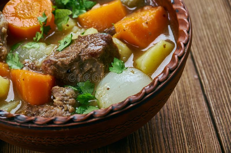Amish Beef Stew royalty free stock photos