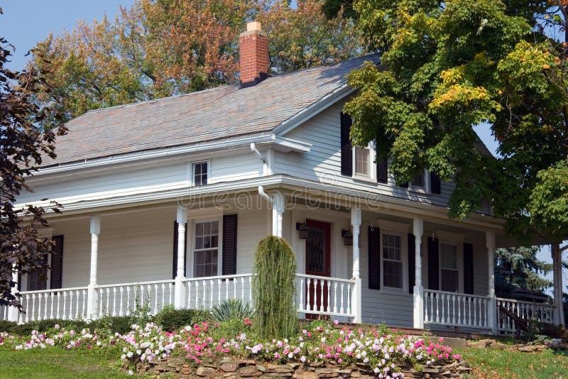 Amish Century Farmhouse royalty free stock photography