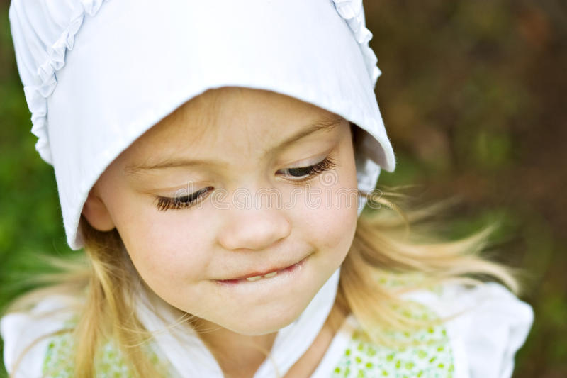 Download Amish Child stock image. Image of nostalgia, blond, smiling - 10349141