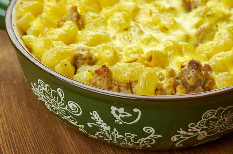 Amish Country Casserole. For many homestyle dishes royalty free stock image
