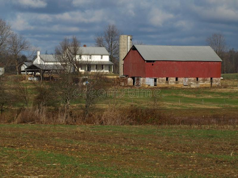 Amish Farm stock images