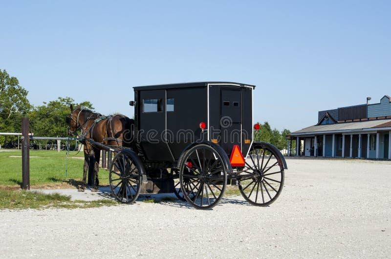 Amish powozik i fotografia stock