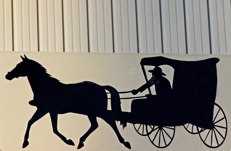 amish tecken royaltyfria foton