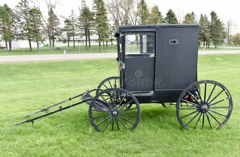 amish vagn fotografering för bildbyråer
