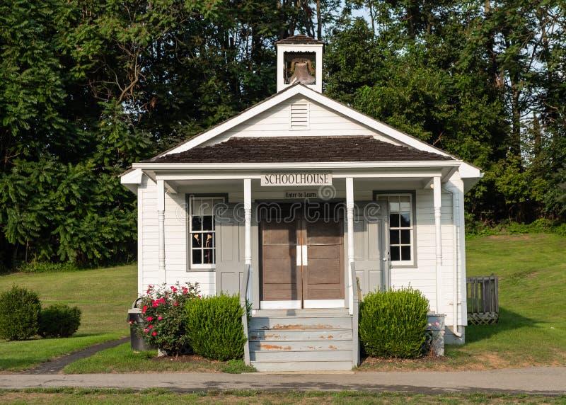 Amish Village building, Pennsylvania stock images