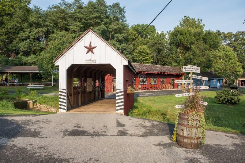 Amish Village building, Pennsylvania royalty free stock photos