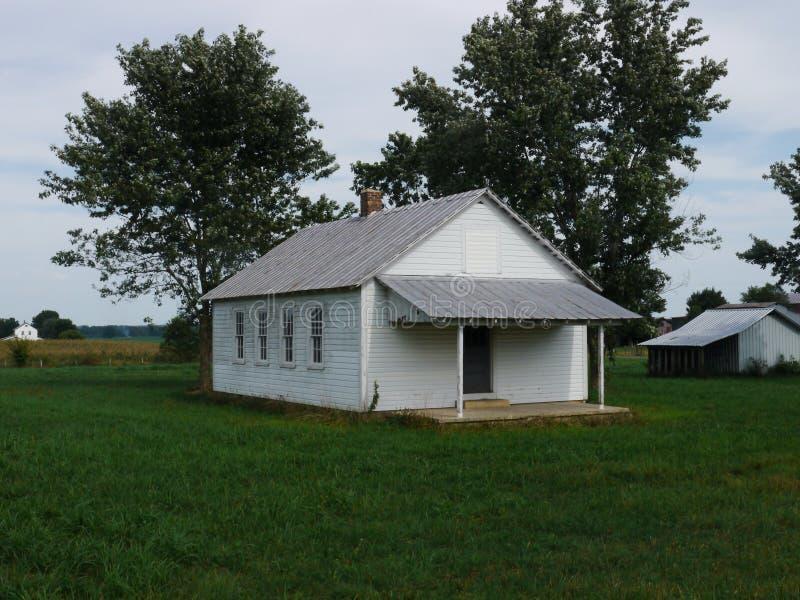 Amishschool--Tennessee stock foto