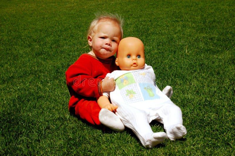 Amistad del bebé imágenes de archivo libres de regalías