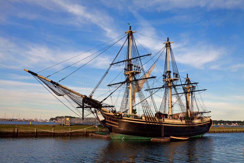 Amistad del velero de Salem imagen de archivo libre de regalías