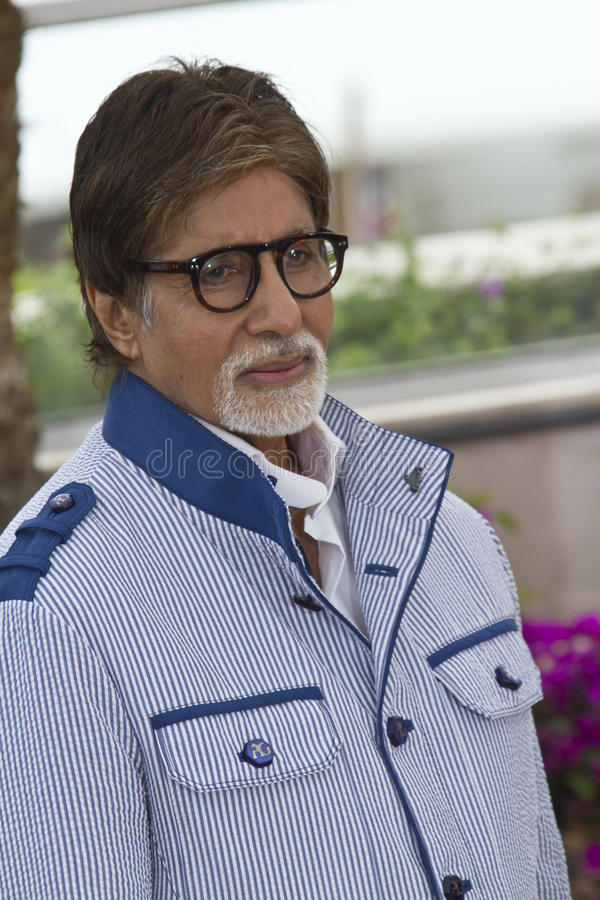Amitabh Bachchan immagine stock