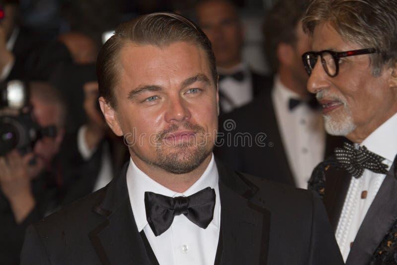 Amitabh Bachchan e Leonardo DiCaprio fotografie stock
