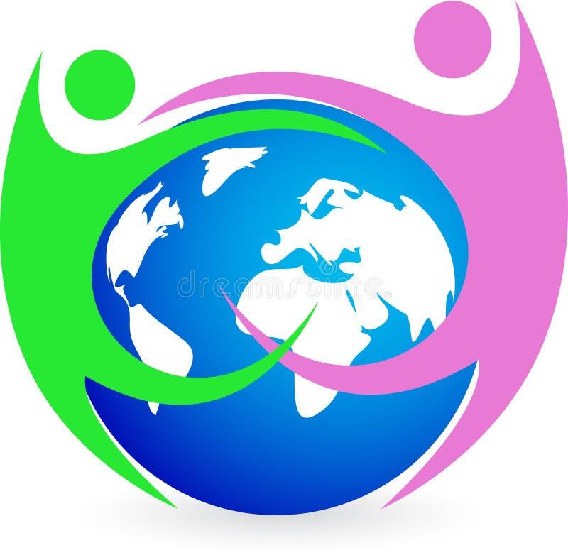 Amitié du monde illustration libre de droits