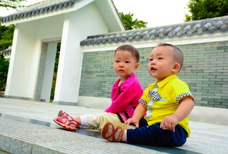 Amizade da infância imagens de stock royalty free