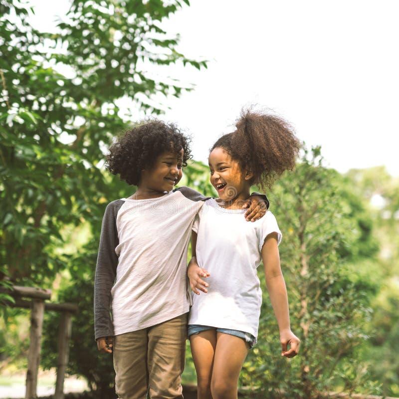 Amizade das crianças imagens de stock royalty free