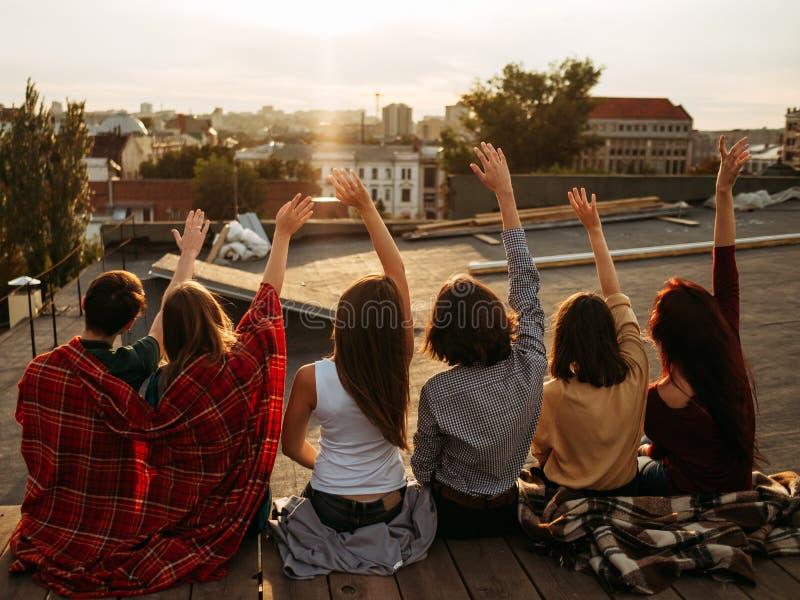 Amizade diversa do estilo de vida da inspiração dos povos fotos de stock royalty free