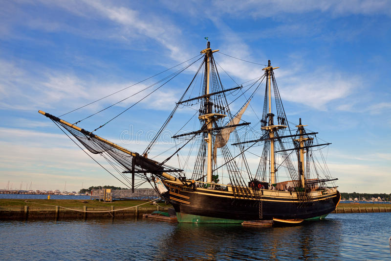 Amizade do navio de navigação de Salem imagem de stock royalty free