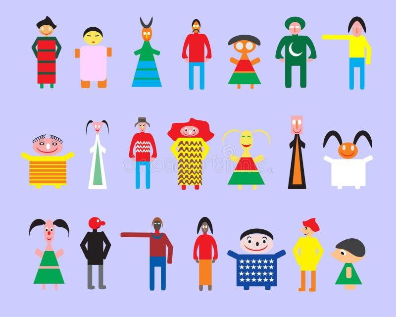 Download Amizade e povos ilustração do vetor. Ilustração de estar - 16867389