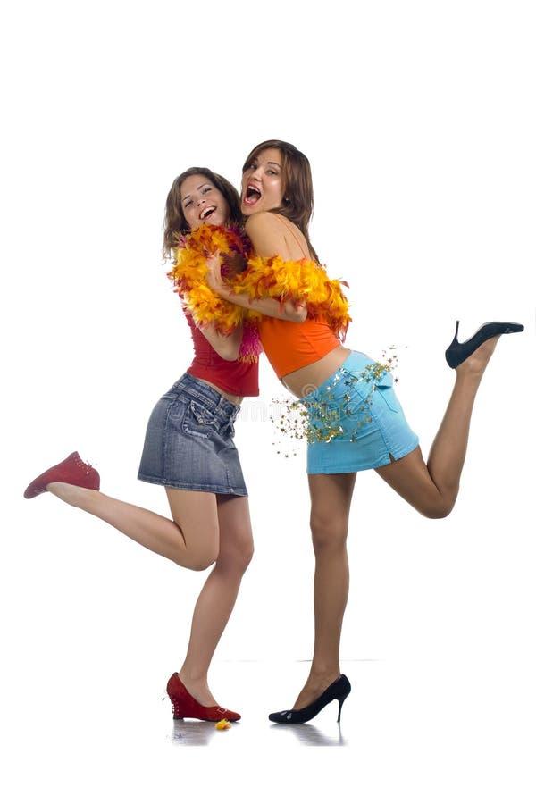 Amizade fêmea fotografia de stock