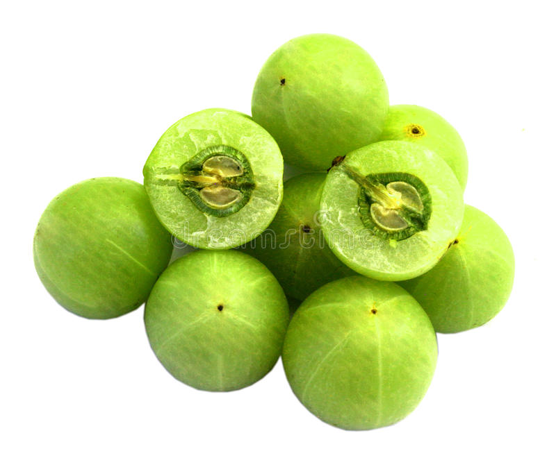 Amla frukt royaltyfria foton