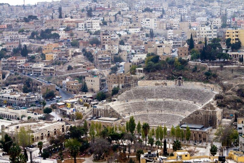 Amman amphitheater - Jordan royalty free stock images