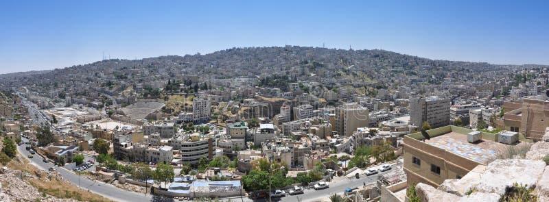 Amman, The Capital Of Jordan Stock Image