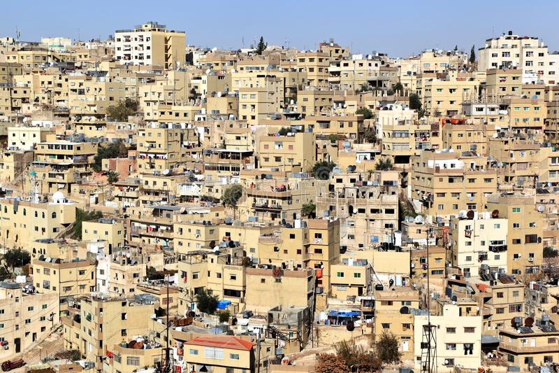 Amman, Giordania fotografie stock libere da diritti