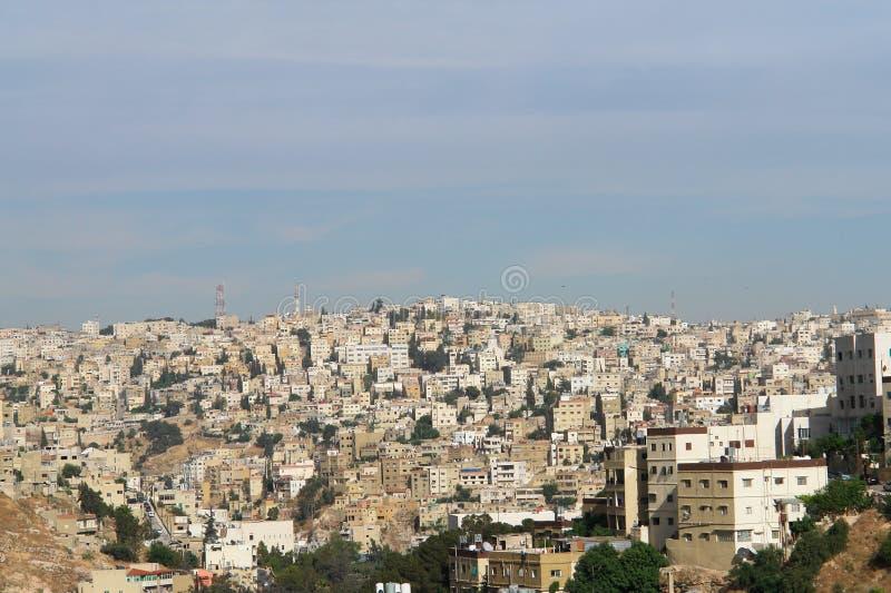 Amman, Jordão - arquitectura da cidade foto de stock royalty free