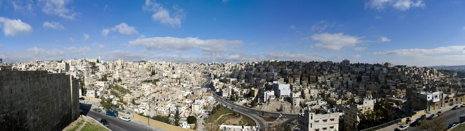 Amman, Jordan royalty free stock photo