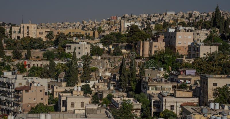 Amman, Jordan. The overview of the city. Amman, Jordan. The overview of the city stock photography