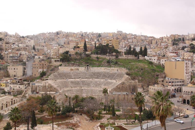 Amman - Jordanië royalty-vrije stock afbeelding