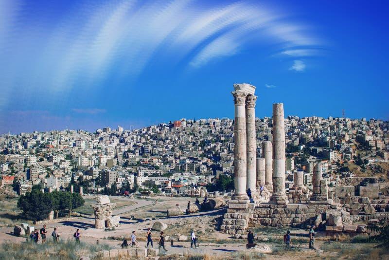 Amman Jordania foto de archivo