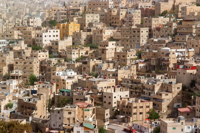 Amman, Jordanie images stock
