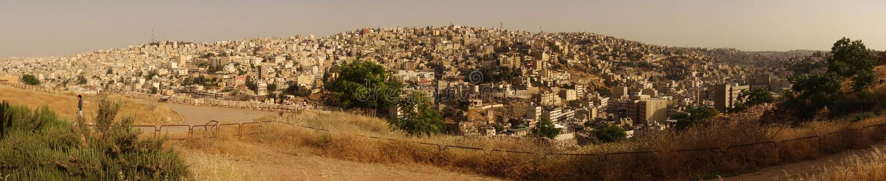 Amman oude stad royalty-vrije stock foto's