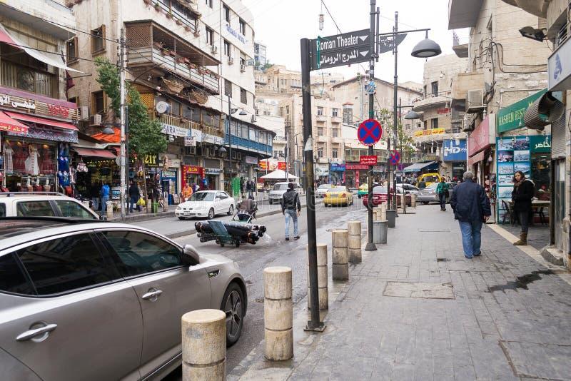 Amman van de binnenstad, Jordanië royalty-vrije stock fotografie