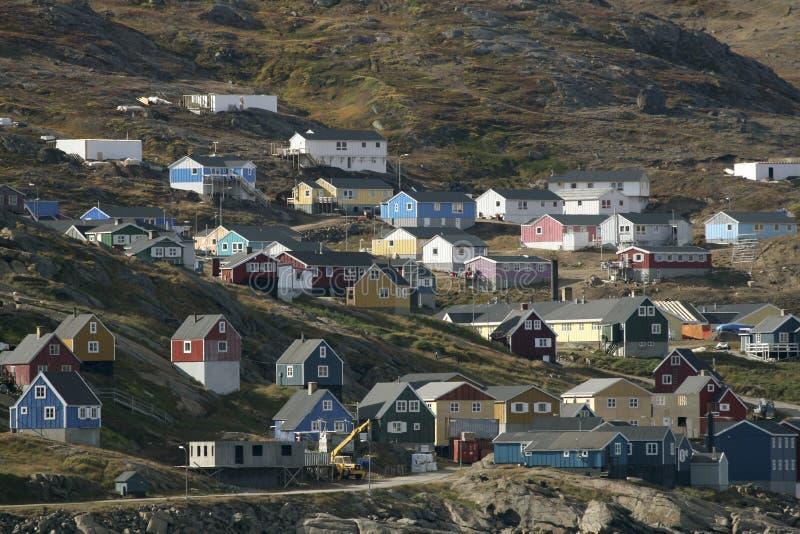 Ammasalik, Groenland stock foto