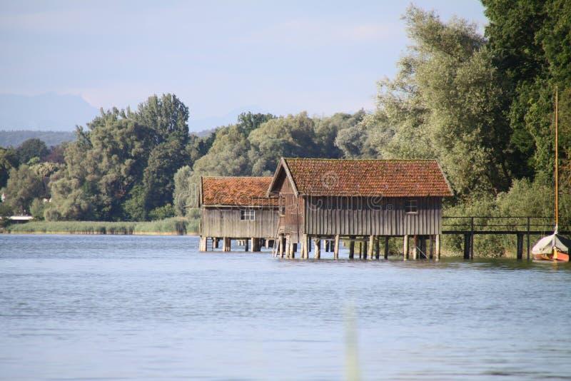 ammersee jezioro zdjęcia stock