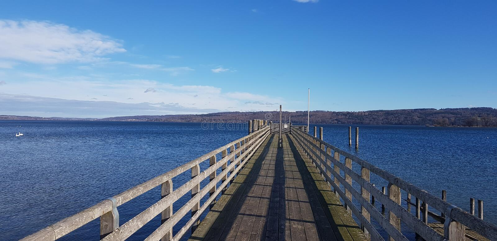Ammersee royalty free stock image