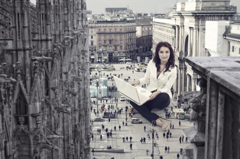 Amministrazione della città fotografie stock
