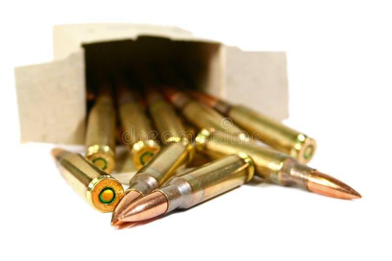 ammo royaltyfri fotografi