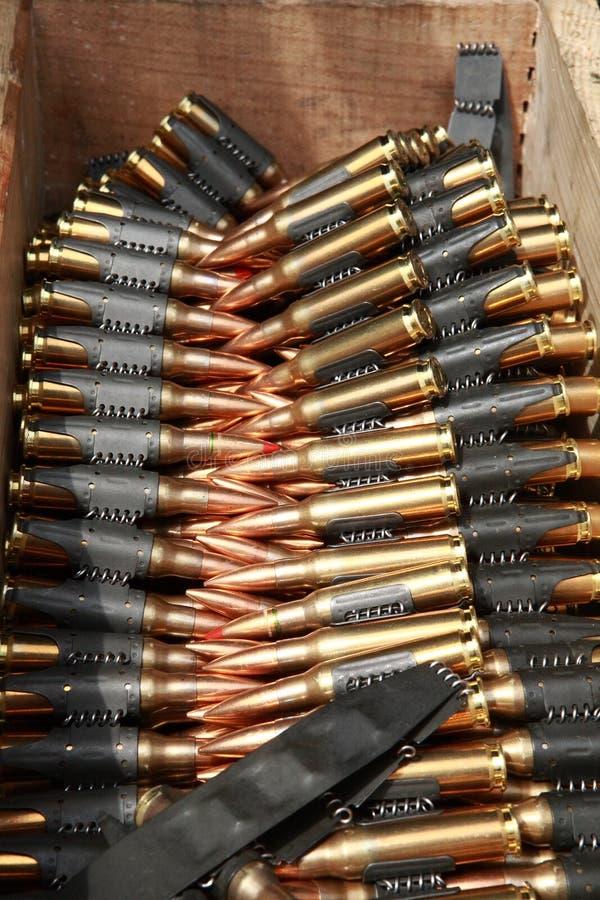 ammo 7 62 royaltyfri foto