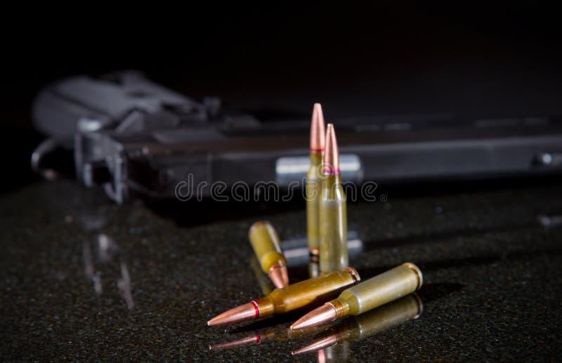 Ammunitionkassetter arkivbilder