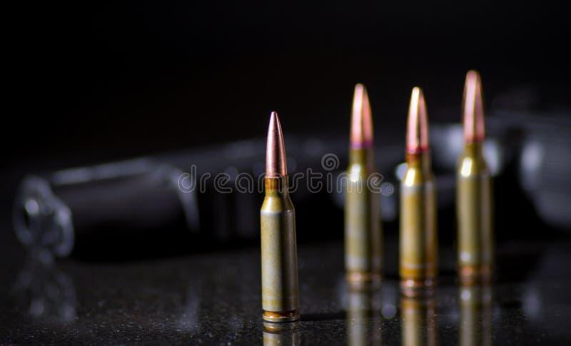 Ammunitionkassetter arkivfoton