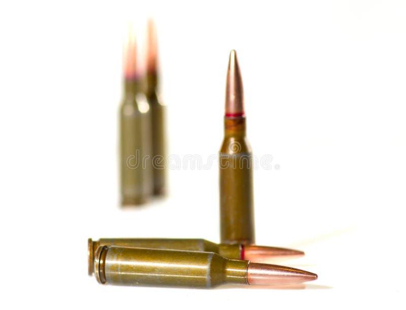 Ammunitionkassetter royaltyfri fotografi