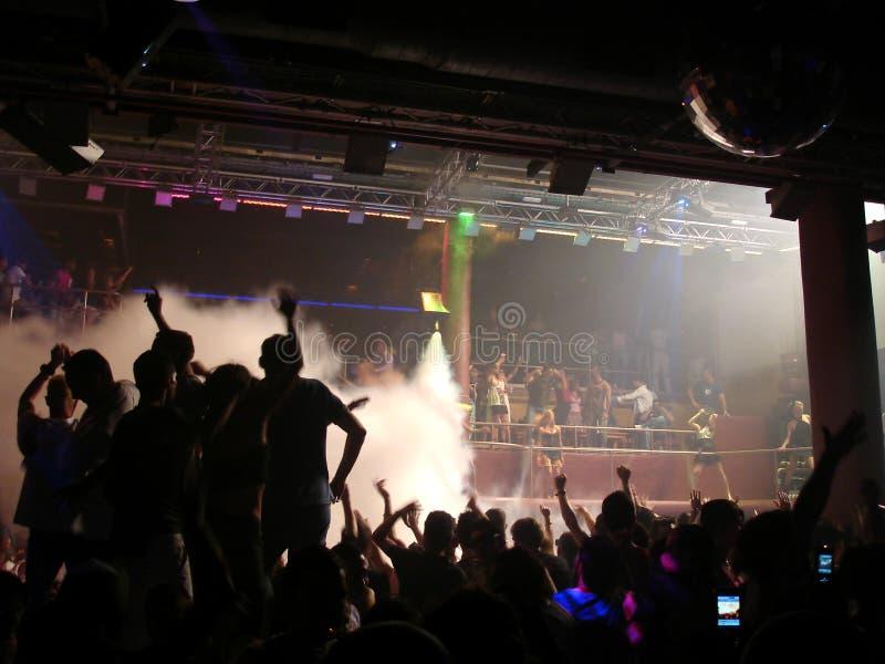 Amnésia do clube do partido, Ibiza imagem de stock