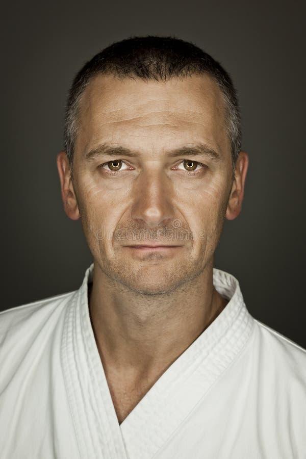Amo de los artes marciales imagen de archivo
